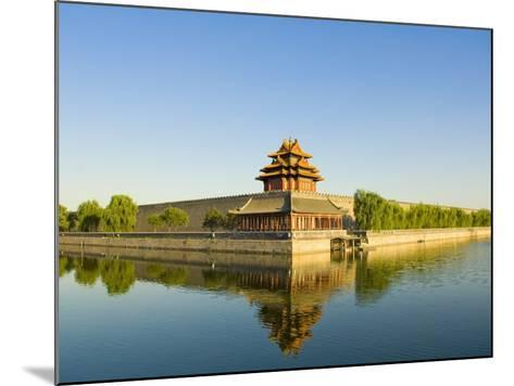 Corner Tower and Moat-Xiaoyang Liu-Mounted Photographic Print