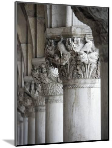 Columns of the Doge's Palace-Tom Grill-Mounted Photographic Print