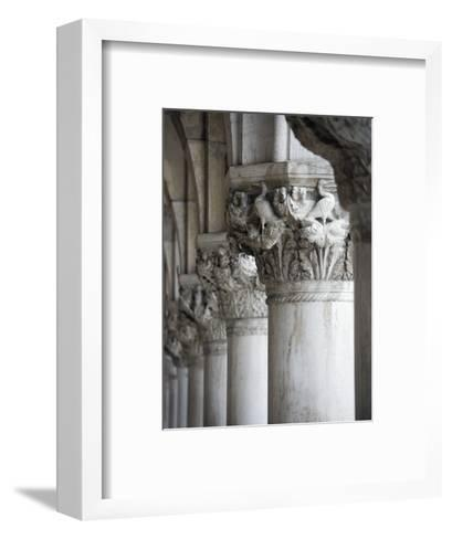 Columns of the Doge's Palace-Tom Grill-Framed Art Print