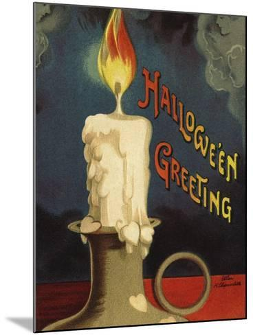 Hallowe'en Greeting-Ellen H^ Clapsaddle-Mounted Photographic Print