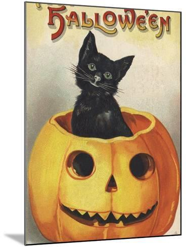 A Merry Halloween-Ellen H^ Clapsaddle-Mounted Photographic Print