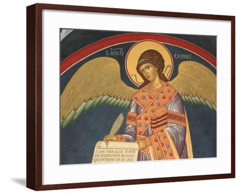 Gabriel Fresco at Monastery of Saint-Antoine-le-Grand-Pascal Deloche-Framed Art Print