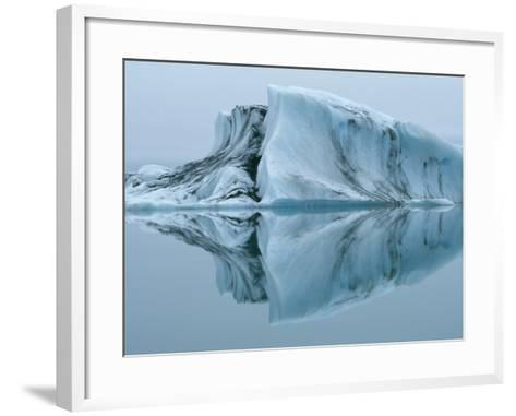 Jokulsarlon Glacier Lake-Micha Pawlitzki-Framed Art Print