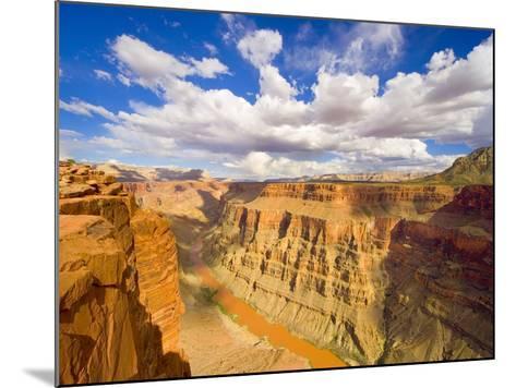 Grand Canyon and Colorado River-John Eastcott & Yva Momatiuk-Mounted Photographic Print