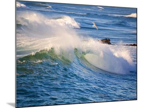 Heavy Surf off Cape Kiwanda on Oregon Coast-Craig Tuttle-Mounted Photographic Print