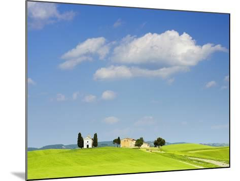Chapel and Farmhouse on Hill-Frank Lukasseck-Mounted Photographic Print