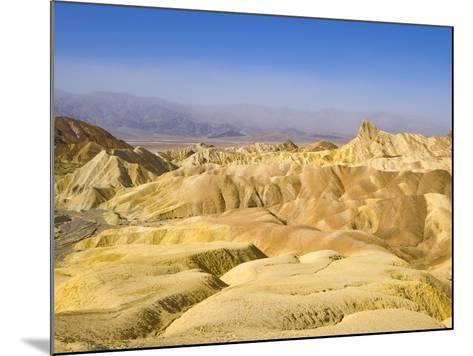 Manly Beacon Peak and Badlands-John Eastcott & Yva Momatiuk-Mounted Photographic Print
