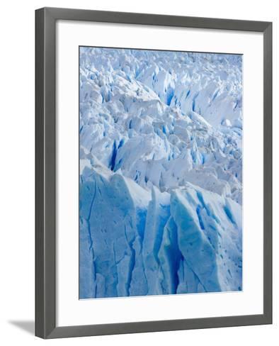 Perito Moreno Glacier-John Eastcott & Yva Momatiuk-Framed Art Print