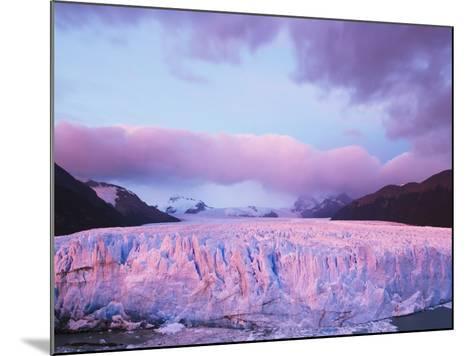 Perito Moreno Glacier at Sunrise-Theo Allofs-Mounted Photographic Print