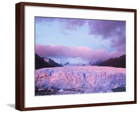 Perito Moreno Glacier at Sunrise-Theo Allofs-Framed Art Print
