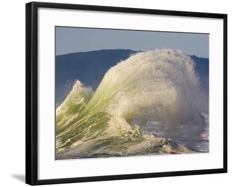 Winter Storm at Cape Kiwanda-Craig Tuttle-Framed Art Print