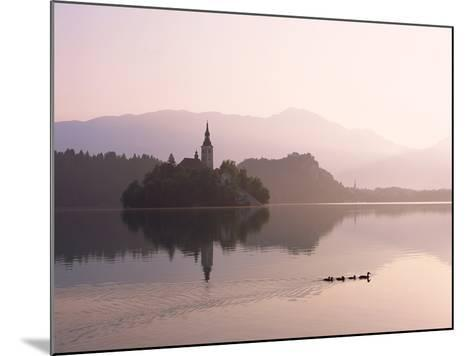 Bled Island and Lake Bled--Mounted Photographic Print