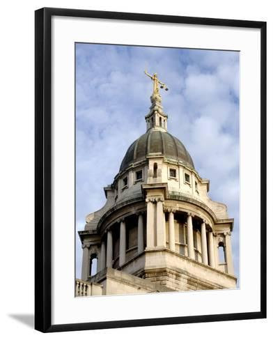 Dome of Old Bailey-Eric Nathan-Framed Art Print