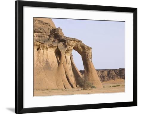 Rock Formations in Desert-Frank Lukasseck-Framed Art Print