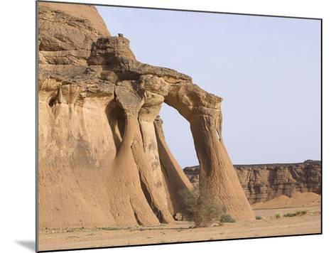 Rock Formations in Desert-Frank Lukasseck-Mounted Photographic Print