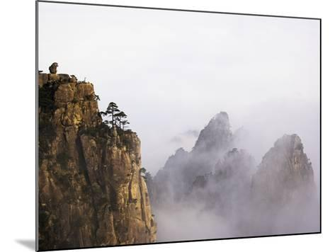 Mountains and Fog-Frank Lukasseck-Mounted Photographic Print