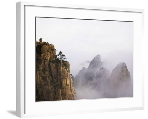 Mountains and Fog-Frank Lukasseck-Framed Art Print