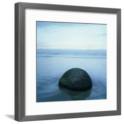 Moeraki Boulders-Micha Pawlitzki-Framed Art Print