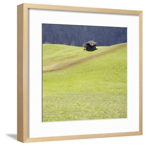 Mountain Cabin-Parque-Framed Art Print