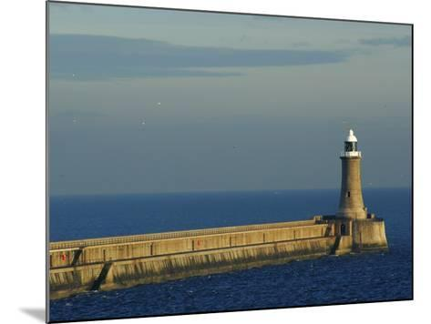 North Pier Lighthouse-Jason Friend-Mounted Photographic Print