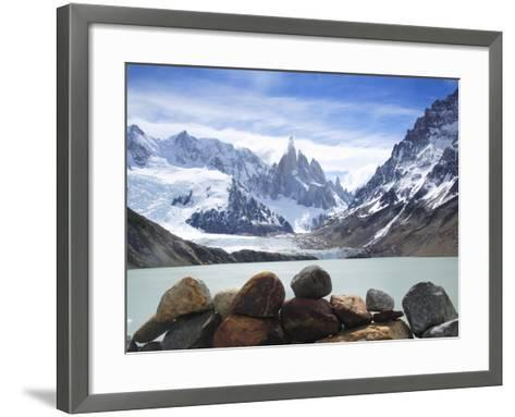 Lake Torre in Los Glaciares National Park-Frank Lukasseck-Framed Art Print