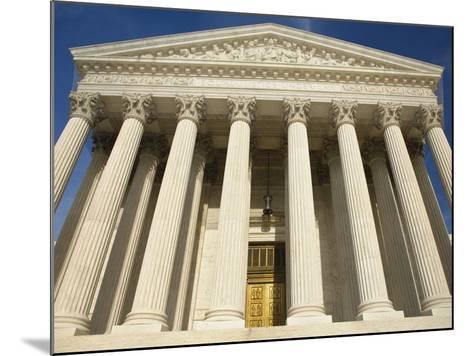 United States Supreme Court-William Manning-Mounted Photographic Print