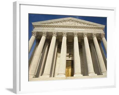 United States Supreme Court-William Manning-Framed Art Print
