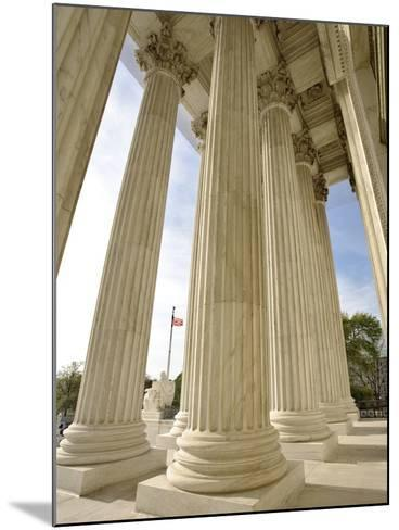 Columns of United States Supreme Court-William Manning-Mounted Photographic Print