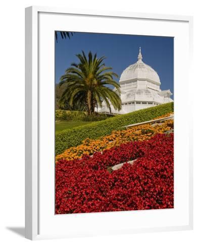 Golden Gate Park Conservatory-Richard Nowitz-Framed Art Print