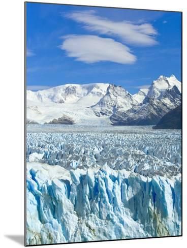 Perito Moreno Glacier and Patagonian Andes-John Eastcott & Yva Momatiuk-Mounted Photographic Print