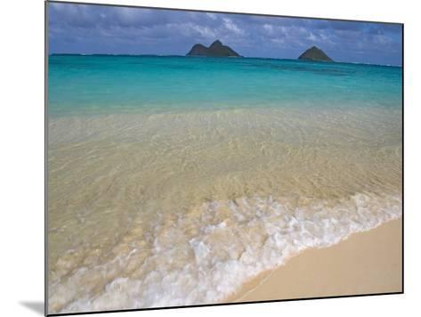 Mokulua Islands from Lanikai Beach-Darrell Gulin-Mounted Photographic Print