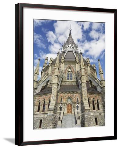 Library of Parliament in Ottawa-William Manning-Framed Art Print