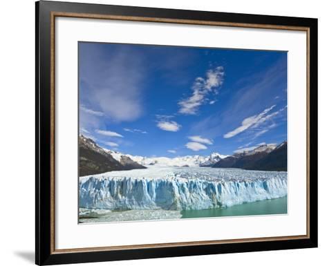 Perito Moreno Glacier and Patagonian Andes-John Eastcott & Yva Momatiuk-Framed Art Print