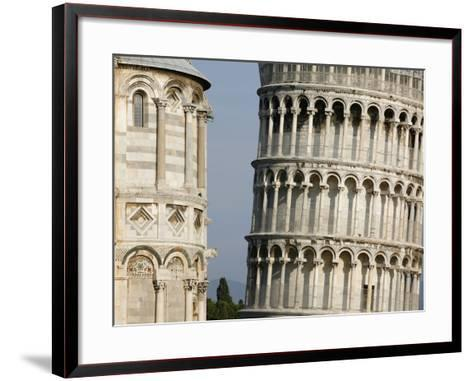 Cathedral and Leaning Tower of Pisa-Fred de Noyelle-Framed Art Print