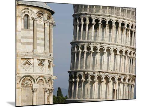 Cathedral and Leaning Tower of Pisa-Fred de Noyelle-Mounted Photographic Print