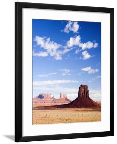 Buttes in Monument Valley-Jos? Fuste Raga-Framed Art Print