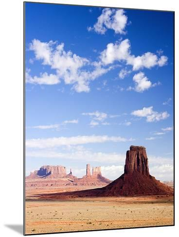 Buttes in Monument Valley-Jos? Fuste Raga-Mounted Photographic Print