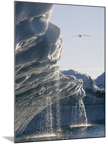 Melting Icebergs in Disko Bay, Greenland-Paul Souders-Mounted Photographic Print