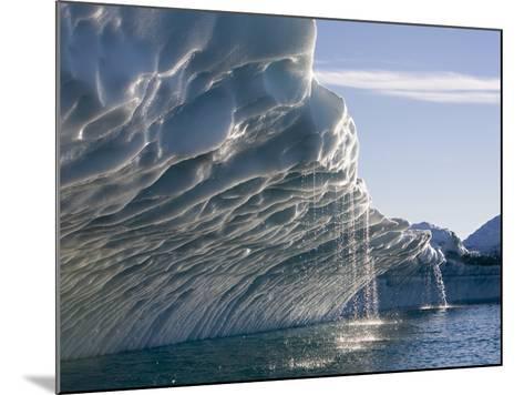 Melting Icebergs, Ililussat, Greenland-Paul Souders-Mounted Photographic Print