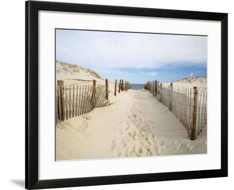 Quiet Beach-Stephen Mallon-Framed Art Print