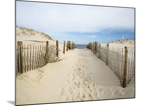 Quiet Beach-Stephen Mallon-Mounted Photographic Print