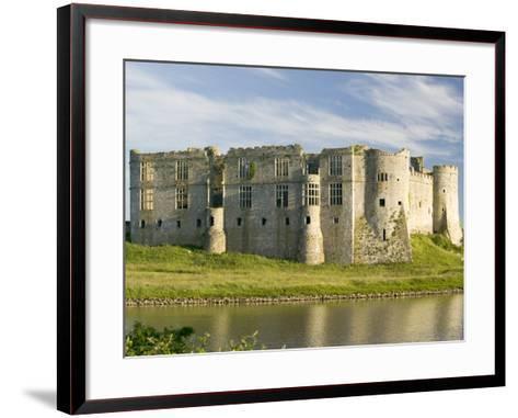 Carew Castle--Framed Art Print