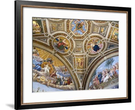 Paintings in Stanza della Segnatura at Vatican Palace-Paul Seheult-Framed Art Print