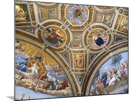 Paintings in Stanza della Segnatura at Vatican Palace-Paul Seheult-Mounted Photographic Print