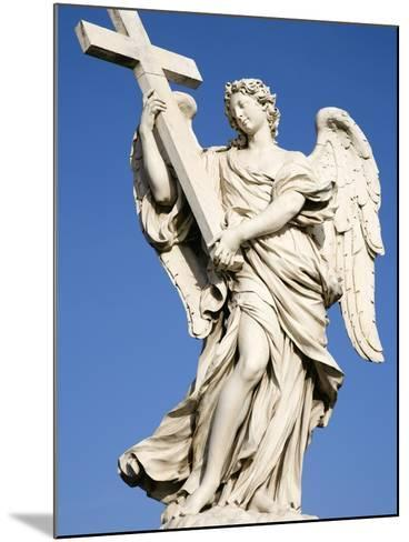 Statue of an Angel on Sant'Angelo Bridge-Paul Seheult-Mounted Photographic Print