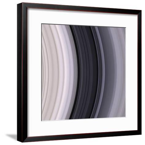 Saturn's Rings-Michael Benson-Framed Art Print