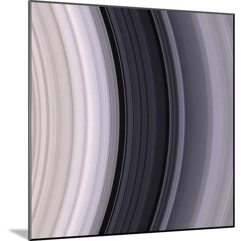 Saturn's Rings-Michael Benson-Mounted Photographic Print