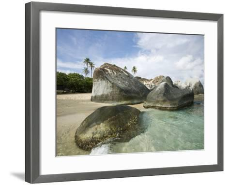 Beach at The Baths-Macduff Everton-Framed Art Print
