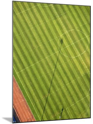 Soccer field-George Hammerstein-Mounted Photographic Print