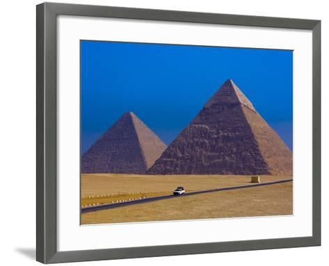 Great Pyramids of Giza-Blaine Harrington-Framed Art Print